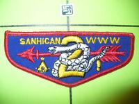 OA Sanhican Lodge 2,F1b,1957,TLS,Snake Flap,MTZ,9,33,287,George Washington Cl,NJ