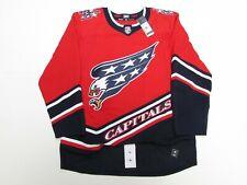Washington Capitals Authentic Adidas Reverse Retro Hockey Jersey Size 52
