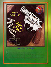 1995 LADY ROSSI .38 Special REVOLVER AD Print ADVERTISING
