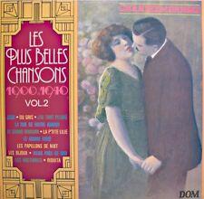 JEAN-CLAUDE PELLETIER les plus belles chansons 1900-1940 LP DOM du gris/zaza NM+