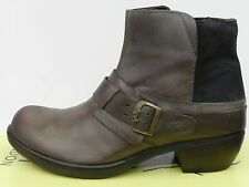 Fly London Mont Chaussures Femme 41 Bottines Montantes Bottes Motard Mel UK8 New