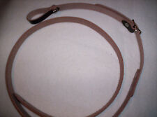 Vintage A Style Leather Mandolin Strap