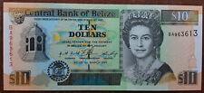 02 Belize  P 59  10 Dollars 1996   unc