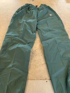 Helly Hansen Workwear Dark Green Waterproof Trousers 73983