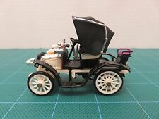 Vintage RIO FIAT 8cv MODELLO 1901 Model Car Black/White Diecast 1/43 #13