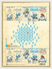 België / Belgium - Postfris/MNH - Sheet 60 years The Smurfs 2018