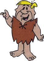 "3.5/"" Flintstones wilma fabric applique iron on character"
