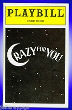 Playbill + Crazy For You + James Brennan, Karen Ziemba, Al Checco, John Hillner