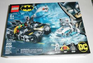 LEGO DC Batman Mr. Freeze Batcycle Battle 76118 200 Piece Building Toy Set Kit