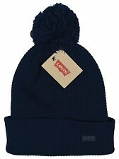 Levi's NEW Men's One Size Navy Blue Winter Hat