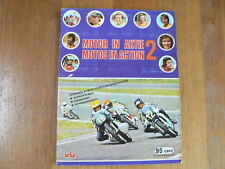 GRAND PRIX MOTOR-CYCLING RACING STAMP ALBUM AGOSTINI,DECOSTER,MIKKOLA,SHEENE,VIL