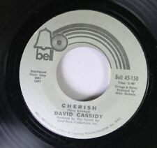 Pop 45 David Cassidy - Cherish / All I Wanna Do Is Touch You On Bell Records