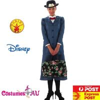 Ladies Mary Poppins English Nanny Costume Maid Victorian Book Week Fancy Dress