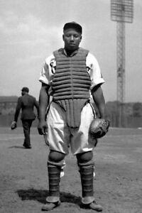 Negro League Josh Gibson PHOTO Homestead Grays Team Star Black Baseball Player