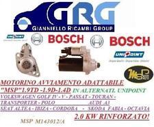 MOTORINO AVVIAMENTO VW CADDY 3 04-09 GOLF V- G.PLUS 5M-SEAT 1.9 TDI MSP-UNIPOINT