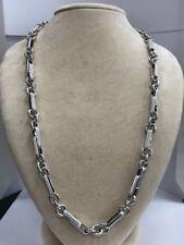 Esclusivo girocollo collana uomo oro bianco - Exclusive gold choker necklace man