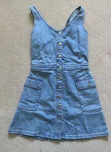 ORSAY Womens Light Blue Denim Short Dress Size S