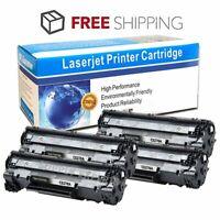 4pk Black CE278A 78A Toner Cartridge for HP LaserJet Pro P1566 P1606dn M1536dnf