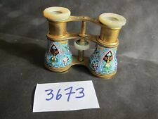 Antique Enameled Opera Glasses