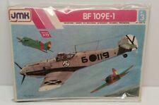 Vintage JMK Messerschmitt BF 109E-1 WWII Military Fighter Aircraft 1/72 Scale