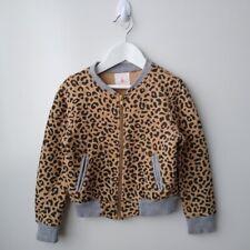 COUNTRY ROAD Girls Animal Print Bomber Jacket - Size 5