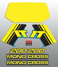YAMAHA 1985 IT200 IT 200 STANDARD DECAL GRAPHIC KIT