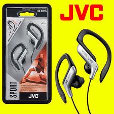 Jvc ha-eb75s Plata Deportes Ajustable oreja los auriculares de clip Auriculares Gimnasio Running