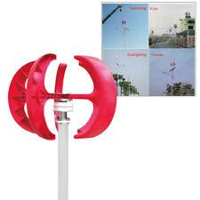 New listing 12V 300W Vawt Lanterns Wind Turbine Generator Vertical Axis Garden+Controller Us