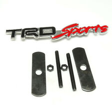 T SPORT Sportivo RACING DEVELOPMENT Metal Hood Front Grille Grill Badge Emblem