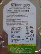 Western Digital WD 25 asilodeve - 63r8uy0/harchv 2ab/27 Oct 2014 - 2,5 TB hard drive