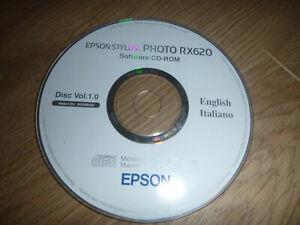 EPSON STYLUS RX620 DISC