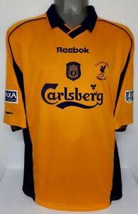 REEBOK LIVERPOOL FA CUP 2001 MICHAEL OWEN XL SOCCER FOOTBALL JERSEY SHIRT