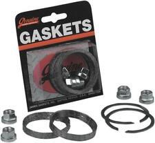 James Exhaust Mounting Gasket Kit Graphite #JGI-65324-83-KWG2 Harley Davidson