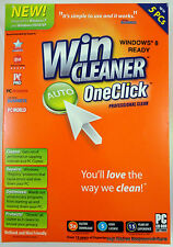 WinCleaner One-Click Professional Clean Retail Box CD Version Up to 5 Users