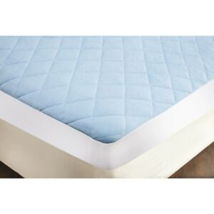 Cool Blue Gel Mattress Protector Single Double King / Pillow Protectors