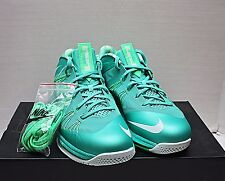 2012 Nike Air Max Lebron X 10 Low Size 11 - Easter Mint Green - 579765 300