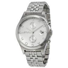 NWT Marc Jacobs Women's Watch Bracelet All Silver SS Chrono FERUS MBM3378 $250