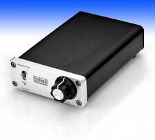 New Indeed TDA7492s Cute Tiny Class D 50WX2 Mini Stereo Digital Amplifier Silver