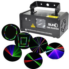 Mini LED Disco Projektor Party RC RGB Laser Licht Lasereffekt Stage DJ Show DMX
