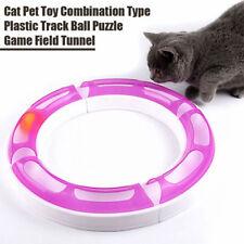 Cat Design Senses Super Roller Circuit Kitten Ball Toy Chase Play Track 3215HC
