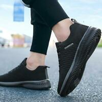 Men Casual Sneakers Lace-up Lightweight Comfortable Walking Shoes