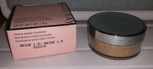 Mary Kay Mineral Powder Foundation  Beige 1.5 opened new 28oz / 8g container