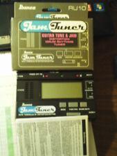 IBANEZ RU10 JAM TUNER:GUITAR TUNE & JAM DISTORTION DRUM RHYTHMS TUNER~NEW in BOX