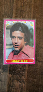 1971 TOPPS RARE TEST ISSUE CARD BOBBY SHERMAN GETTING TOGETHER MEET WES # 54