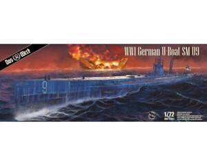 DAS WERK TOP NEUHEIT 1/72 S.M. U-Boot 9 (L= 80 cm) TOP BAUSATZ WW I U-BOOT NR II