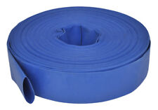 vidaXL 50m Blue Water Delivery, Flat Hose