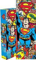 Superman Rétro Slim 1000 Pièce Puzzle 900mm x 300mm (NM)