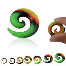 Ear Silicone Taper/Stretcher Body Piercing Jewellery