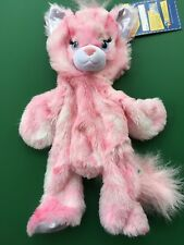 """Build a Bear 17"""" Retired Blingy Pink Kitty Plush Toy - Unstuffed - New"""