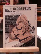 16 Planches de montage - L'Imposteur - Complet - Sissi 203